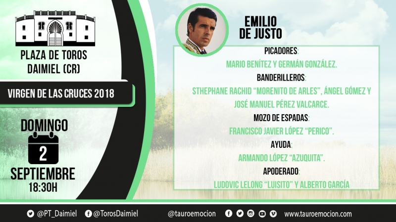 CUADRILLA EMILIO DE JUSTO DAIMIEL